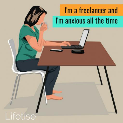 Anxious freelancer