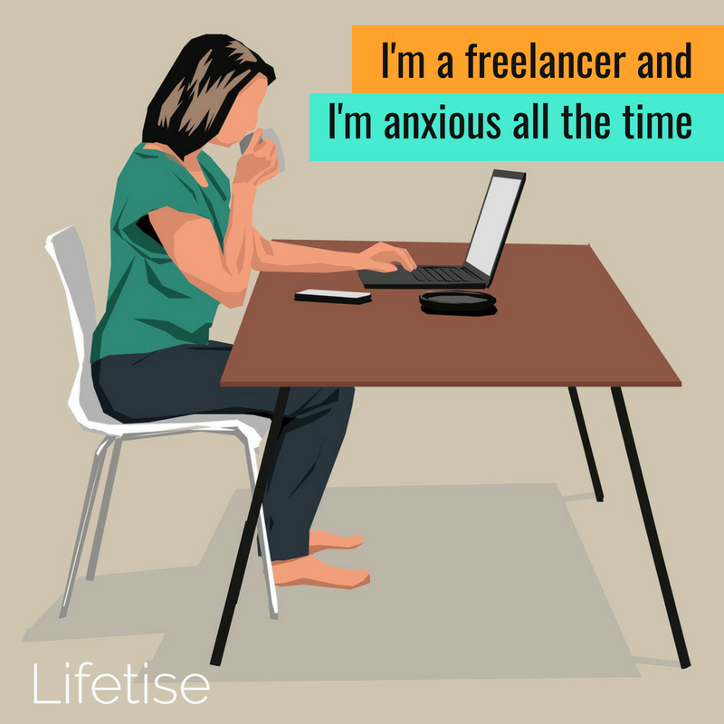 Anxious freelancer