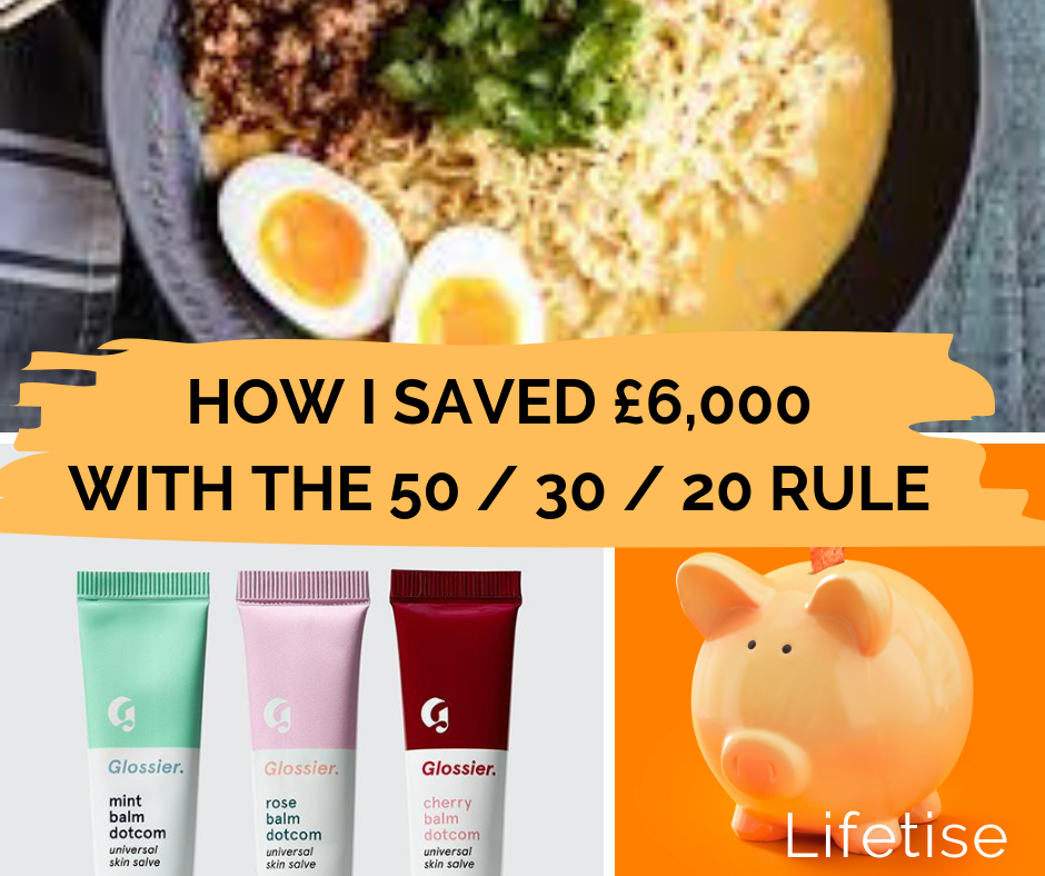 How to save money using the 50-30-20 rule - Lifetise