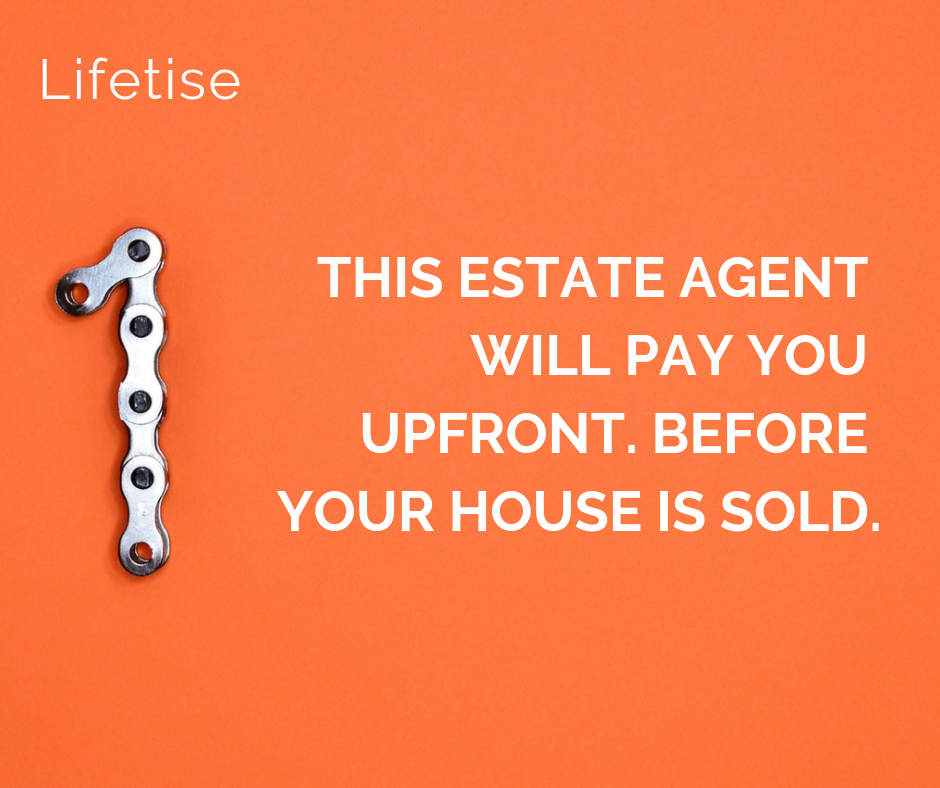 Lifetise - Nested estate agent will pay you upfront