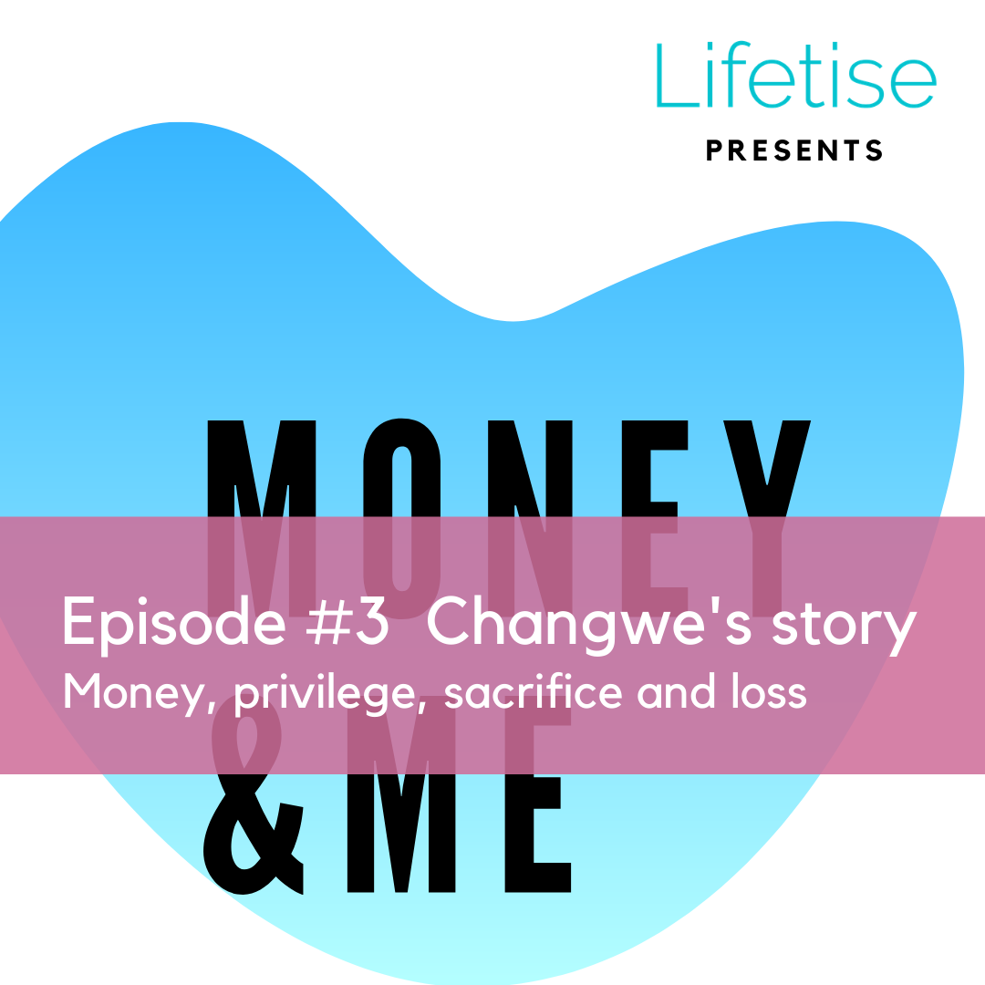 Lifetise money and me podcast - portfolio career and defining own version of success